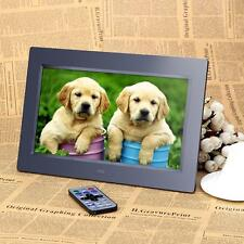 10'' HD TFT-LCD Digital Photo Frame Clock MP4 Player with Remote Desktop X6I1