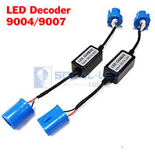 2x EMC 9007 9004 Headlight Canbus LED Decoder Kit Error Free Anti-Flickering