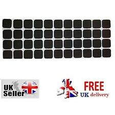 44 SELF ADHESIVE FELT TABS Furniture Chairs Protector New Pads Floor Square Home