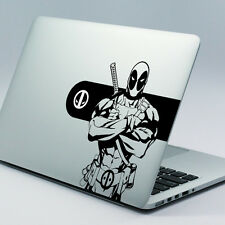"DEADPOOL Apple MacBook Decalcomania Adesivo accoppiamenti 11 "" 12"" 13 "" 15"" & 17 ""i modelli"