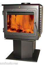 TIMBER RIDGE 50-TRSSW01 Wood Stove, heats 2000 sq ft,- New in box