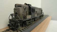 Kato HO JA981 set of 2 custom weathered fantasy line ALCO RS 11 diesel locos.