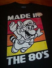 VINTAGE STYLE SUPER MARIO BROS. 3 Made in the 80'S NES Nintendo T-Shirt 4XL NEW
