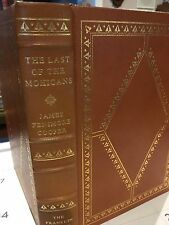 Franklin Library: James Fenimore Cooper: Last of the Mohicans: N.C. WYETH Illus.