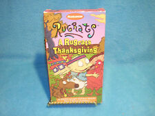 Rugrats - A Rugrats Thanksgiving (VHS, 1997) with Bonus Cartoons