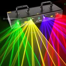 4 Lens 4 Beam RGPY DJ Disco Laser Light Stage Party Show DMX 7CH 460mW