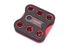 "Monsoon 13/10mm (ID 3/8"" OD 1/2"") Anschraubtülle gerade Six Pack - Red"