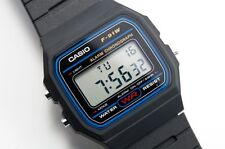 Casio F-91W Retro Vintage Classic Unisex Digital Sports Watch - Black
