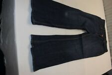 J0508 Levi 's 525 bootcut jeans aprox. w33 azul muy bien