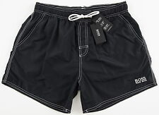 Men's HUGO BOSS Black Swim Trunks Swimsuit Small S NWT NEW Lobster 50223665
