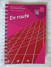 Official ODA London 2012 Games One Team Transport Insider Guide - 'En Route'
