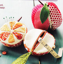PATTERN - Apples to Oranges Sewing Kit - fun sewing accessory PATTERN