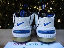 VTG 1996 Nike Air Max Penny 2 II OG white black blue foamposite 10 Original 1 3