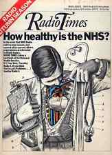 RADIO TIMES 28 SEPT 1974 . NHS COVER . CALL MY BLUFF . DAVID NIVEN . PHILIPS VCR