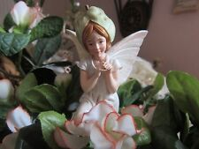 RARE Cicely Mary Barker THE WHITE BINDWEED FAIRY ornament figurine Series III