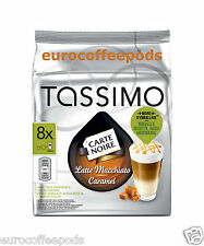 Tassimo carte noire latte caramel café, 5 x packs (40 portions) 80 t disc