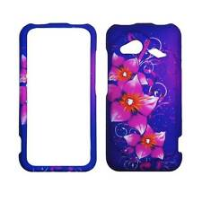 For  HTC Droid Incredible 4G LTE 6410 Triple Flower Plane Case Hard Phone Cover