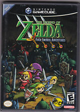 Legend of Zelda: Four Swords Adventures (Nintendo GameCube) game Complete