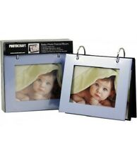 Photocraft Flip Baby Photo Frame - Holds 36 Photos - Blue
