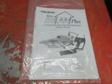 PROBOAT PRO BOAT MISS ELAM HYDRO HYDROPLANE OWNERS MANUAL DYNAMITE .15