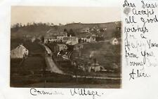 Cranham Village Nr Gloucester early undivided back RP old pc  used 1903