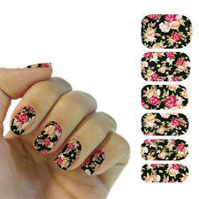 Nail Art Transfer Stickers 3D Design Manicure Tips Decal Decoration Tool