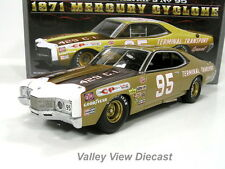 UNIVERSITY OF RACING LEGENDS LTD ED-1971 MERCURY CYCLONE-DARYL WALTRIP'S #95 MIB