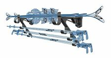 SNOW SKI STORAGE RACK HOME GARAGE HOOK PEG WALL STORAGE SNOWBOARDING