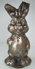 Vintage Bunny Rabbit Cast Metal Toy Mold industrial factory figural display art