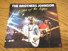 "THE BROTHERS JOHNSON - LIGHT UP THE NIGHT   7"" VINYL PS"