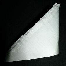 "Royal Blue Silk Pocket Square - Full Sized 16""x16"" - 30 Colors - Royal Silk®"