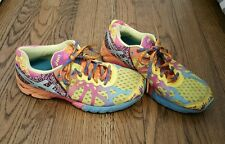 Women's Asics Gel Noosa Tri 9 Sneakers Bright Colorful Size 8