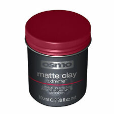 Osmo Matte Clay Extreme Hold Texture Wax for Natural Look Hair Product 100ml