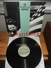 "A Subtle Plague ‎""Inheritance"" LP HEYDAY USA 1990 - INNER"