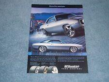 """2004 BFGoodrich T/A Tires Ad with 1969 Camaro RestoMod """"Bowtie Pastya"""""""