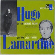 Victor Hugo Alphonse de La Martine 33 tours Wilson Topart