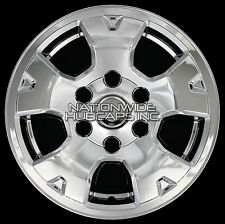 "4 CHROME 05-16 Toyota TACOMA 16"" Wheel Skins Hub Caps Rim Covers 6 Bolt w Center"