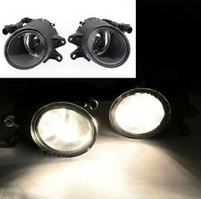 Pair Front Grille Lamp Bumper Driving Fog Light For Audi 02-05 A4 B6 Sedan L & R