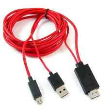 USB Micro For Samsung Galaxy S3 4 Note 2 3 MHL to HDMI TV AV Cable Adapter HDTV