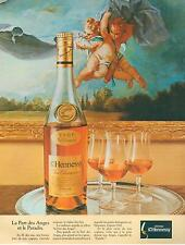 ▬► PUBLICITE ADVERTISING AD Cognac HENNESSY Anges