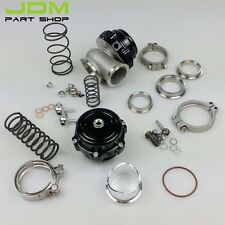 44mm Turbo Wastegate Combo Set Wastegate 44mm V-Band BLACK+50mm Blow Off Valve
