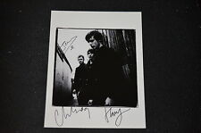 WHITE LIES signed autograph In Person 8x10 (20x25 cm)