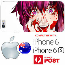 iPhone 6 6S Silicone Case Cover Silicone Mirai Nikki Pink Hair Future Diary AUS
