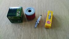 Tune up Kit NGK Spark Plug Oil Filter Suzuki DRZ400 DRZ 400 S E SM Kawasaki KLX