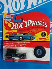 Hot Wheels 1994 Vintage Collection Series Paddy Wagon Dark Green w/ Red Lines