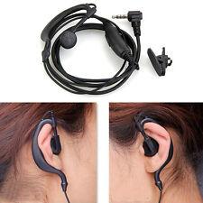 Neu 3.5mm Headset Ohrbügel Kopfhörer mit Mikrofon für HYT Walkie Talkie Radio