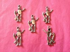 Plata Tibetana Tin man/ice Hockey encantos 5 per Pack Oz temas
