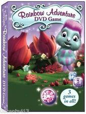 Barbie Fairytopia Magic of the Rainbow Adventure (DVD Game Only) 3 Games in All!