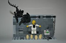 Custom Lego Xenomorph Alien Set with Chest Burst Minifigure!