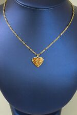 Park Lane 16 Inch Chain With Heart Pendant